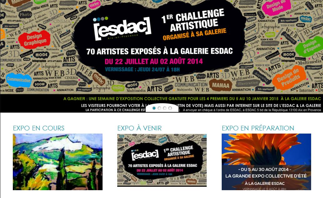 Exposition ESDAC