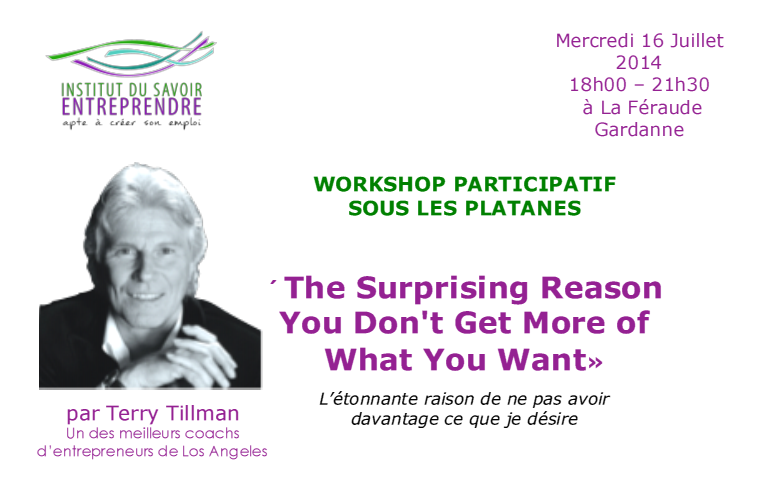 Workshop Juillet Tillman